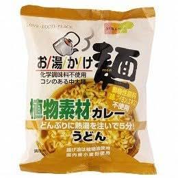お湯かけ麺 植物素材カレーうどん 81g