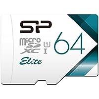 【Amazon.co.jp限定】シリコンパワー microSD カード 64GB Nintendo Switch 動作確認済 class10 UHS-1 最大読込85MB/s アダプタ付 永久保証