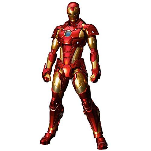 RE:EDIT IRON MAN #01 Bleeding Edge Armor(再販)ノンスケールPVC&ABS&ダイキャスト製塗装済み可動フィギュア