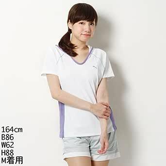 プーマ(PUMA) レディースランニング半袖ドライクールUV Tシャツ(フーデッド SS TEE)