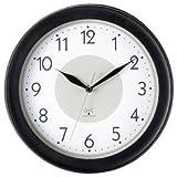 新生活 プレゼント 見やすいクロック シンプル 電波掛け時計