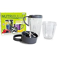 Nutribullet Nbm-0507m Upgrade Kit Deluxe Accessory Kit, Grey