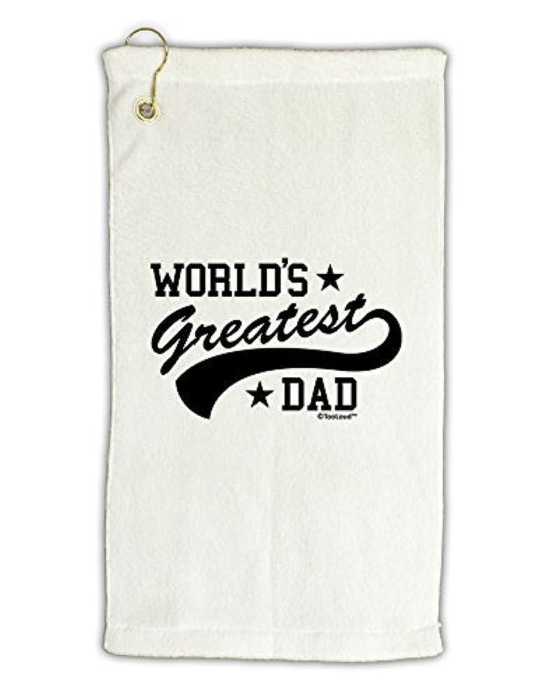 テラス土地苦痛TooLoud World 's Greatest Dad – スポーツスタイルMicro Terry Grometゴルフタオル11