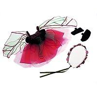クリエイティブ教育Great Pretenders Fairy Blossom人形ドレスwithスリッパ&ヘイローコスチューム