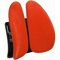 腰サポート メッシュクッション クッション 腰痛 腰 サポート カー用品 オフィス パソコンチェア 腰枕 妊娠中 腰痛対策 オレンジ 40*40cm