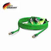 SommerCableビデオ75Ω - HD / 3G / 6G / 12G-SDI / 4K-UHD SC-ベクトル0.8 / 3.7エクイペBNC / BNC NBNC75BLP9Xノートリク、ヴェール(20m) - Sommer Cable製ドイツ製