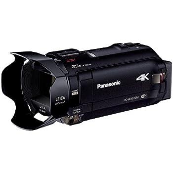 パナソニック 4Kビデオカメラ WX970M ワイプ撮り 軽量447g ブラック HC-WX970M-K