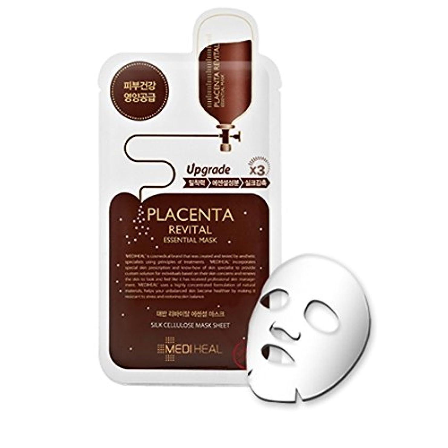 スキニー結婚アノイMEDIHEAL Placenta Revital Essential Mask (並行輸入品)