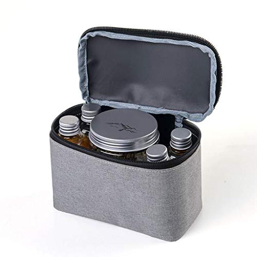 うなる定義するコンサルタント調理器具 入れ 調味料ケース スパイス ボックス 調味料 入れ ケース クッキングツール ボックス スパイス ボックス キャンプ BBQ バーベキュー用具 収納バッグ 6個セット調味料入れ付属