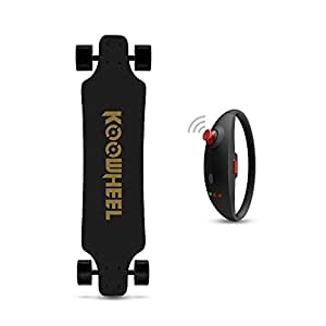 KOOWHEEL 電動スケートボード 電動スケボー ロングボード 最大時速約40km 最大勾配約25° ブレスレット付き バッグ付き サンドペーパー二つ 交換なPUホイール二つ 最大負荷100kg 大人用 正規輸入品