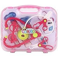 MolySun おままごと キッズミニシミュレーション医療キットおもちゃ箱かわいいプレゼント親子のインタラクションインスパイア想像力と創造性 ピンク