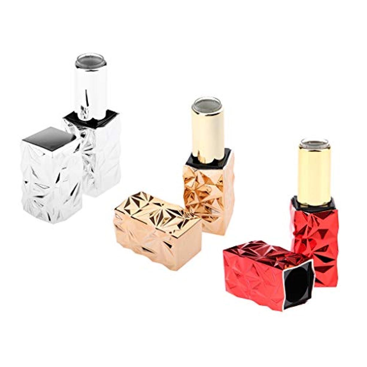 クロステクスチャー二度Perfeclan 口紅 容器 空 リップスティックチューブ 口紅の管 口紅チューブ プラスチック 持ち運び便利