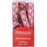 Furwear Fashion Harness for Dogs, Medium, Pink