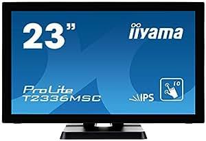 iiyama 23型ワイド液晶ディスプレイ ProLite T2336MSC-2 (AH-IPS、投影型静電容量方式タッチ T2336MSC-B2