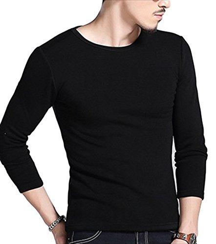 (フムフム) fumu fumu メンズファッション Tシャツ 長袖 裏起毛 あったか Vネック