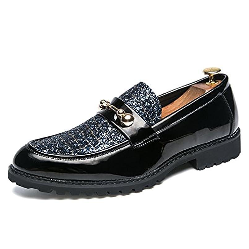 絶対の無限深めるビジネスシューズ メンズ ストレートチップ ローファー 防水 レザー ブランド 黒 紳士靴 仕事用 24.0cm 24.5cm 25.0cm 25.5cm 26.0cm 26.5cm 27.0cm 「イノヤ」