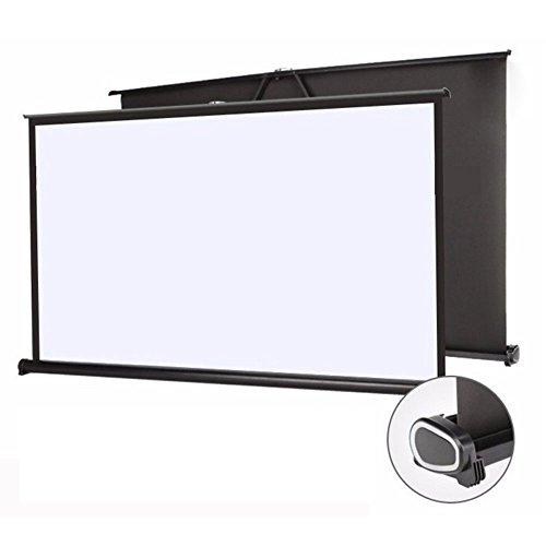 Mileagea 50インチ(16:9) 携帯式 プロジェクタースクリーン 自立型タイプ ホームシアター プレゼン ビジネス用