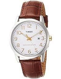 [タイメックス]TIMEX イージーリーダー 38mm シルバー TW2R65000 【正規輸入品】