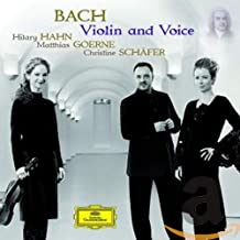 Bach Violin & Voice
