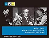 「偉大なるチェロ奏者たち」 (Great Cellists ~ Radu Aldulescu | Enrico Mainardi | Pierre Fournier Janos Starker) [4CD] [Import] [限定盤]