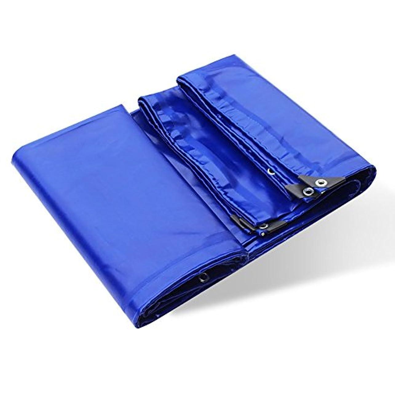 ビット記事解釈Lixingmingqi アイレット650g /㎡が付いている防水頑丈で青い厚くされた不凍剤の防水シート