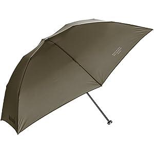 (ムーンバット) MOONBAT マッキントッシュ フィロソフィー 超軽量折りたたみ傘 バーブレラ UV加工 無地 21-431-20320-02 55-50 カーキー 親骨の長さ 50cm