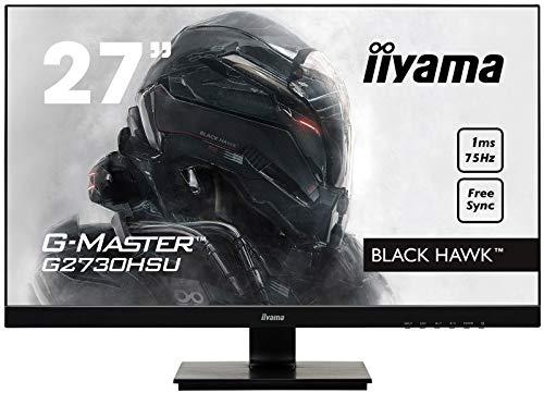 iiyama ゲーミング モニター ディスプレイ G2730HSU-B1 (27インチ/1ms/フルHD/TN/DisplayPort,HDMI,D-sub/3...