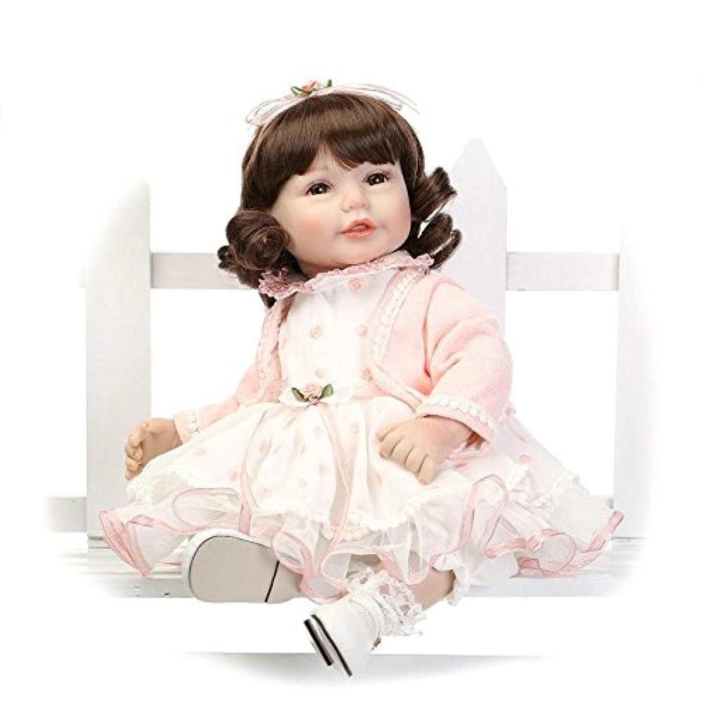 Nicery ラブリーおもちゃ人形高品質ビニール20インチ50cmシミュレーション生きているような女の子のギフト Toy Doll LD50C002B