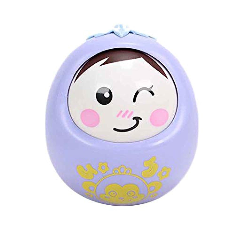 TNGCHI クリエイティブタンブラー 赤ちゃん用ガラガラ おもちゃ アニメ ノッディングドール 楽しいパズル 幼児 子供 おもちゃ ギフト ランダムなお届け 1個