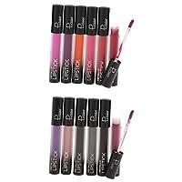 Fenteer 12色 口紅 リップグロス マット シマー 防水 長持ち 唇メイク 高品質 2タイプ選べる  - #2