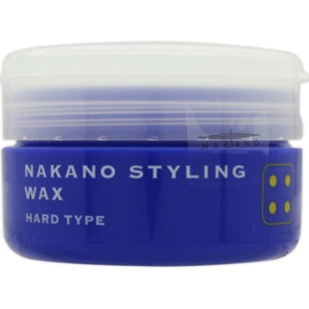 助けて順応性のあるほかにナカノ スタイリングワックス 4 ハードタイプ 90g 中野製薬 NAKANO [並行輸入品]