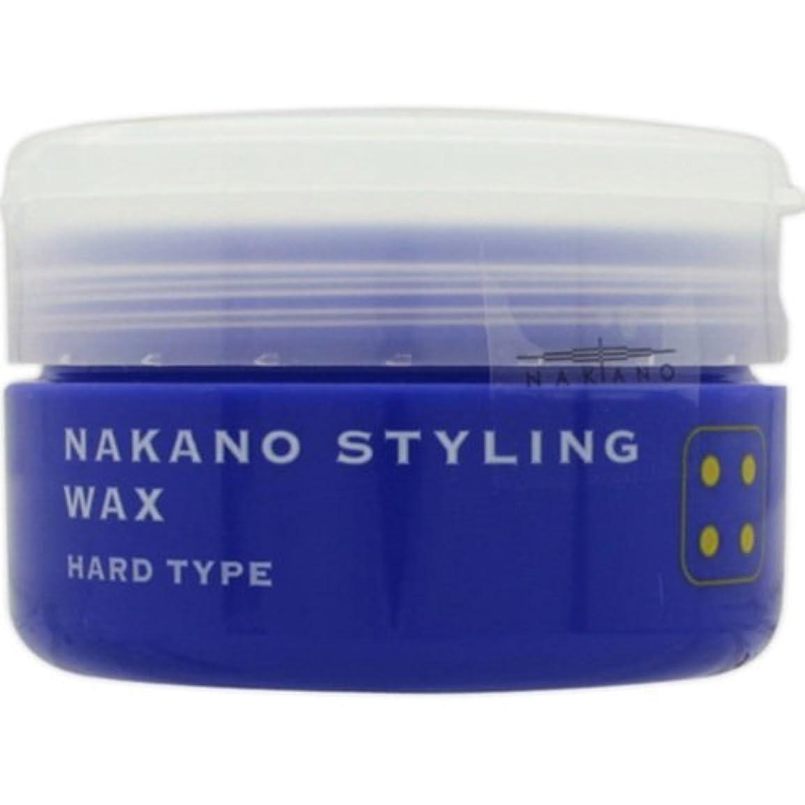 忌み嫌う換気湾ナカノ スタイリングワックス 4 ハードタイプ 90g 中野製薬 NAKANO [並行輸入品]