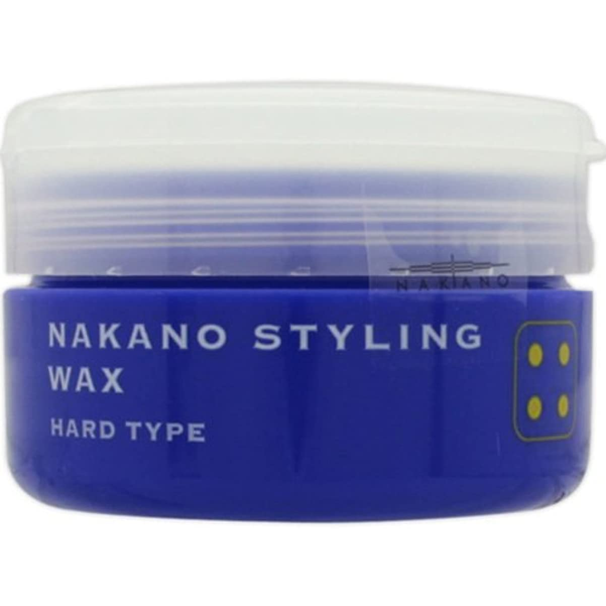 知人離婚意識的ナカノ スタイリングワックス 4 ハードタイプ 90g 中野製薬 NAKANO
