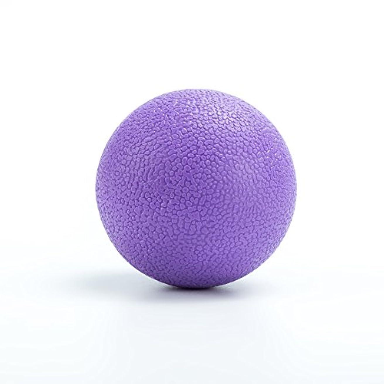 磨かれたウッズ意味のあるMassage Ball マッサージボール 筋膜リリース Yoga Lacrosse Ball 背中 肩こり 腰 ふくらはぎ 足裏 ツボ押しグッズ