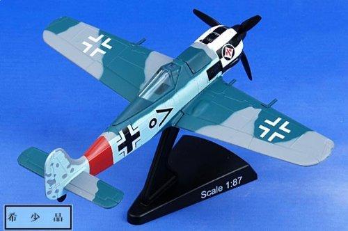"""1:87 モデル パワー 郵便 Stamp Planes 5352-1 Focke-Wulf Fw 190A ダイキャスト モデル Luftwaffe I/JG 1, """"黒 Chevron O"""", W"""