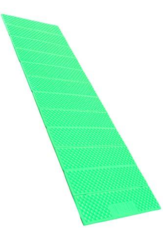 Hizak レジャーマット 縦186cm 横56cm 幅1.8cm 重量330g レッド オレンジ グリーン ブルー EVA素材 (グリーン)