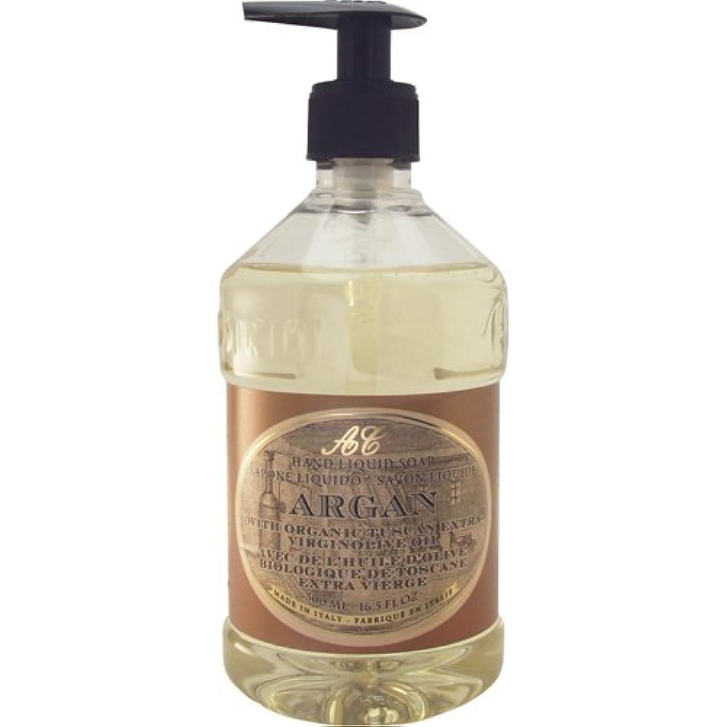 スラッシュ真実にフェザーSaponerire Fissi レトロシリーズ Liquid Soap リキッドソープ 500ml Argan アルガンオイル