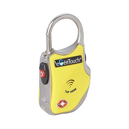 eGeeTouchスマートトラベルロック(TSA南京錠)持ち物のセキュリティー性を高め、持ち物を追跡し盗難や置忘...