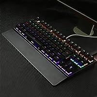 娯楽用メカニカルキーボードバックライト付きUSB有線26キーアンチゴーストゲームキーボード