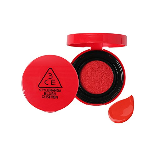 3CE★ブラッシュクッション チーク ★3CE BLUSH CUSHION (#GIRLISH RED)