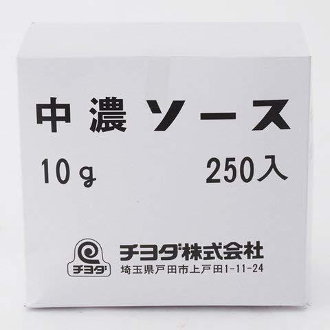 チヨダ 中濃ソース小袋タイプ 10GX250 5個