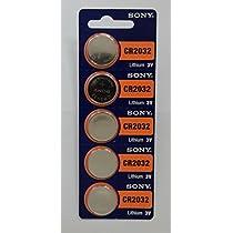 SONY ソニー CR2032 5個入シート 海外パッケージ品