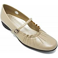 ANNA COLLECTION(アンナコレクション) レディース 婦人靴 3E パンプス 522 ベージュ