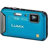 Panasonic デジタルカメラ ルミックス 防水モデル コーラルブルー DMC-FT20-A