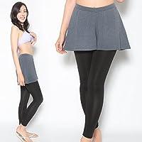 ラッシュガード レディース レギンス スカート付き UPF50+ 女性用 全5色 S~3Lサイズ ラッシュレギンス ラッシュガードレギンス 紫外線98%カット