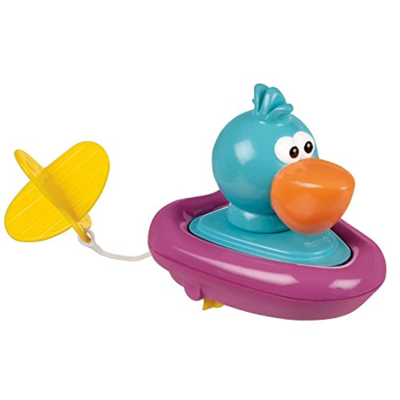 Sassy Pull and Go Boat Bath Toy, Pelican [並行輸入品]