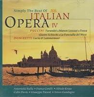 Simply the Best Italian Opera