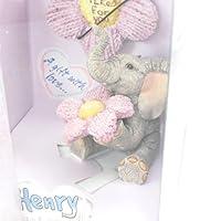[リリーの宝 (Les Tresors De Lily)] (Elephant Love コレクション) [I3332] 置物・オブジェ バイオレット