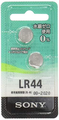 ソニー SONY アルカリボタン電池 水銀ゼロシリーズ LR44-2ECO