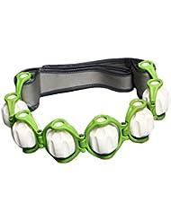 FLAMEER ボディマッサージローラー ロープ付き 六つボール 4色選べ - 緑, 説明したように